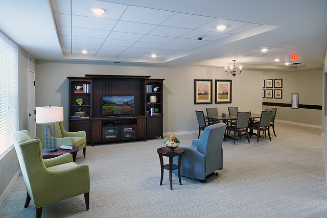 Enhanced Care Family Lounge