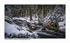 Winter im Harz (H. Roebke (offline for a while)) Tags: schnee de canon5dmkiv landscape landschaft braunlage nature water germany rural wald harz snow bodefälle hdr baum tree forest ndfilter canon1635mmf28lisiii winter natur lightroom wasser