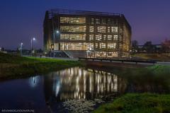 de Watercampus in Leeuwarden op dinsdagavond