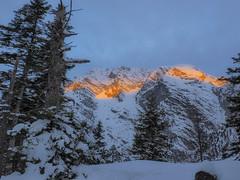 PC080017 (turbok) Tags: berge landschaft schnee sonnenaufgang stimmungen winter c kurt krimberger