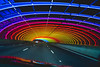 Drive through colour (SemiXposed) Tags: color colour lights night drive by through rainbow cars inside tunel freeway highway road traffic melbourne australia tullamarine citylink tunnel colors in our world