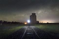 Dubbo (Bill Thoo) Tags: explore dubbo nsw newsouthwales goldenhighway australia milkyway night stars astrophotography explorer longexposure landscape scenic travel sony a7rii ilce7rm2 batis 18mm hvlf60m silo grainsilo