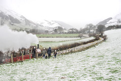 Talyllyn in the snow (www.danwyrephotography.co.uk) Tags: talyllyn railway steam train tywyn gwynedd snowdonia tourist dysynni mountains snow christmas