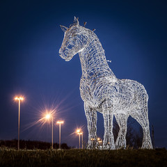 Heavy Horse, a scuplture by Andy Scott. (iancook95) Tags: