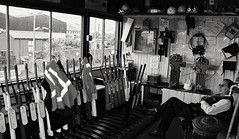 CNV00020/2001 (2) (Milepost 67) Tags: ireland countyroscommon boyle boylerailwaystation railway railways irishrailways irishrail iarnrodeireann semaphore semaphores signal signals semaphoresignal semaphoresignals signalbox signalboxes boylesignalbox boylesignalcabin