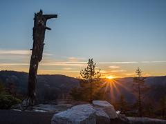 Mountain Rays (Maxinux40k) Tags: afs35mmf18ged california copyright2017 d810 donnellvista fall hdr mitchellcipriano nikon november outdoors sierra sierranevada sonorapasshighway stanislausnationalforest sunset blue mountain orange rocks tree