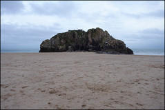 Photo of St Catherine's Island, Castle Beach, Tenby