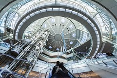 Haneda Airport Terminal 2 (mon_masa) Tags: tokyo airport architecture uwa ultrawideangle atrium