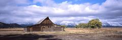 Moulton Barn Panorama (rpantaleo) Tags: wyoming jackson grandtetonnationalpark film g617 panorama panoramic landscape
