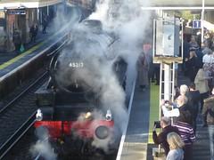 Black 5 (JuliaC2006) Tags: steam train locomotive 45212 black5
