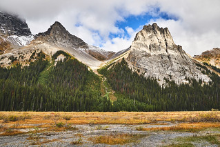 The Pig's Tail and Commonwealth Peak