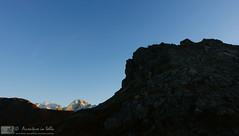 Marmolada e Gran Vernel al tramonto (AvventureInSella) Tags: marmolada granvernel panorama montagna dolomiti tramonto tourdelledolomiti
