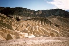 Zabriskie Point (Anita363) Tags: zabriskiepoint geology erosion deathvalleynationalpark deathvalley mohavedesert mojavedesert mohave mojave desert scanned film