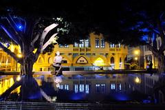 Samir Kassir Square (decineper) Tags: beirut downtown park statue