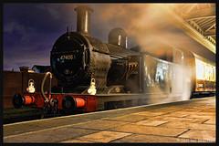 No 47406 18th Nov 2017 Great Central Railway Last Hurrah Gala (Ian Sharman 1963) Tags: no 47406 18th nov 2017 great central railway last hurrah gala class 3f jinty 060 station steam engine rail railways train trains loco locomotive passenger loughborough gcr