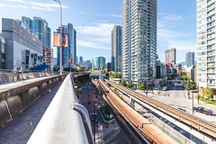 Downtown-Vancouver-1 (hotcommodity) Tags: vancouver downtown britishcolumbia canada business financial urban plaza park private infrastructure green buildings skytrain transportation train transit