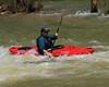 Kayaker on Buffalo River -  Steel Creek Campground, Northwest Arkansas (danjdavis) Tags: kayaker kayak kayaking buffalo riverbuffalo national river arkansas