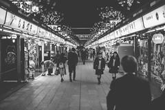 Tokyo Street (mripp) Tags: art vintage retro old street strase city urban stadt japan asia tony night nacht black white mono monochrom history tourism tourists leica m10 summicron 50mm