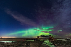 Bridge to Nowhere Aurora (MarkHarrisPhotography) Tags: scotland aurora auroraborealis northernlights bridge nowhere nightphotography longexposure bridgetonowhere