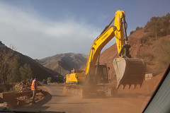 Rockslide (daverodriguez) Tags: morocco atlasmountains