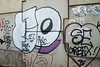 GRAFFITI on ROADSIDE, S YORKSHIRE_DSC_7026_LR_2.0 (Roger Perriss) Tags: flyover graffiti woodhousewashlands wall concrete concretepanels art wallart d750 swallownest aston paint symbols