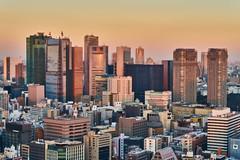 汐留 / Shiodome (yiming1218) Tags: 汐留 shiodome tokyo cityscape sunset nightscape evening 東京 日本 日落 黃昏 landscape sel2470gm gm sony ilce7rm2 a7rm2 a7r2 東京タワー tokyotower urban gmaster
