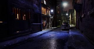 Alley Night Noir