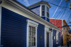 The Blue Fish House (Kev Walker ¦ 7 Million Views..Thank You) Tags: bluenose boats building canada canon1855mm canon700d clouds colonialsettlement colorfull digitalart fairhavenpeninsula hdr historic lunenburg novascotia panorama panoramic picturesque postprocessing ship town water waterfront worldheritagesite
