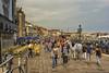Venice in June. (PLN54) Tags: venice buildings bridges umbrellas chairs
