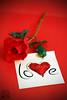 Love (photoschete.blogspot.com) Tags: canon 70d eos 50mm rojo red flor rosa flower rose petalos petals nota note amor love romantico romantic