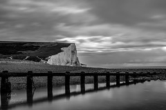 The Seven Sisters (ed027) Tags: ifttt 500px sky landscape water nature beach stones ocean waves path beautiful natural history wood war lines long exposure ancient chalk wide waterfront cliffs frame framing epic coastal seven sisters sussex leading line seaford cuckmere