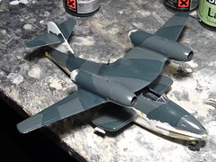 "Dornier Do 319 ""Seeschwalbe"" jet flying boat (Whif/Smer kit conversion) - WiP (dizzyfugu) Tags: 172 whif whatif fictional aviation marine luftwaffe dornier do 318 18 24 float stub wing amphibian flying boat german spy covert operation jumo jet engine zigzag swimming stab secret project modellbau dizzyfugu luft46 luft 46"