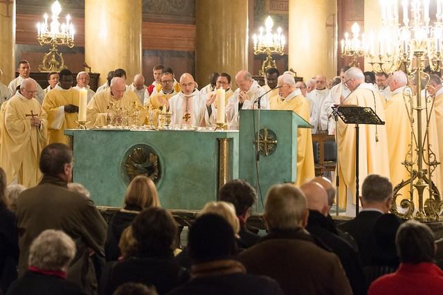 Concélébration de l'Eucharistie