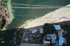(homesickATLien) Tags: 35mm film art kodak analog expired mjuiii olympus asia travel air backpacking backpacker movement motion outdoor motorbiking bago burmese burma myanmar poverty pollution river creek