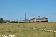 BB7258 sur Corail Metz Lyon vers Fleurville (philippedreyer1) Tags: