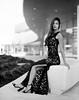 Angie (NoahWmR12) Tags: film black white kodak mamiya rz67 pro ii iowa model asian elegant bw expired fashion dress