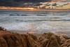 Tamarack Sunset 2 (CloudRipR) Tags: socal southerncalifornia sunrise surf clouds california beach sand cliffs nikon nikkor d810