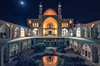 Agha Bozorg Mosque, Kashan, Iran (Feng Wei Photography) Tags: islamicculture night middleeast isfahan art aghabozorgmosque landmark colorimage islamic mosque kashaniran builtstructure iran iranianculture travel tranquilscene reflection courtyard architecture traveldestinations islam tourism horizontal outdoors kashan irn