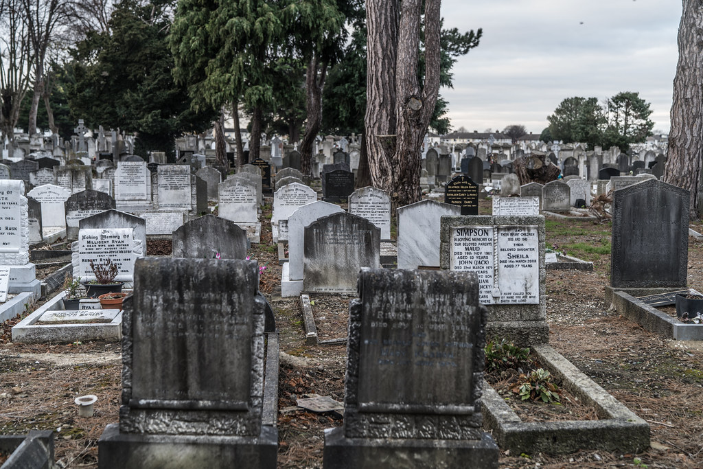 MOUNT JEROME CEMETERY IS AN INTERESTING PLACE TO VISIT [IT CLOSES AT 4PM]-134342