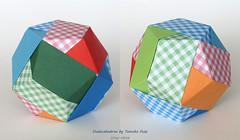 Dodecahedron by Tomoko Fuse (irina_chisa) Tags: origami kusudama