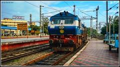 Bonus catch after spotting Jhansi ! (siddarthashok@rocketmail.com) Tags: wdm3d emd alco indianrailways railroad railfan trainstation coimbatore thrissur