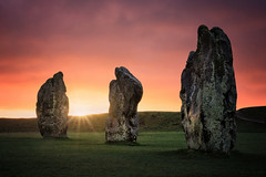 Dawn of the Ancients II (Langstone Joe) Tags: stonecircle avebury wiltshire neolithic dawn sunrise standingstones