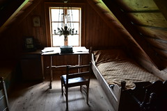 Traditional Icelandic Bedroom 2 - Typewriter (Amaury Laporte) Tags: europe iceland skogar folkmuseum traditional history