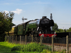 Flying Scotsman at Didcot 3 (Railway-Fox) Tags: didcot railway centre lner pacific flying scotsman 60103 4472