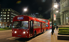 MBA539 (keith-v) Tags: london bus company aec merlin mba539 stands st paul's during run over former red arrow route 513