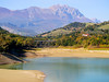_A154345 (elsuperbob) Tags: penne pescara abruzzo italy italia drought digadipenne lagodipenne fiumetavo gransasso mountains beach emptyspaces lake dam reservoir