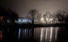Foggy December Night (Roy Manchester) Tags: catskill newyork unitedstates us canon 5dsr 50mm12 50mm12l primelens prime urbanlandscape night nightphotography llenses longexposure availablelight canonllenses gps geotag