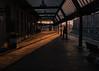 A Cold Stand (slicnep) Tags: carlisle station railway light cold waitng standing train platform shadow morning sun sunshine frost england uk