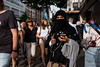 Oxford Street (Gary Kinsman) Tags: fujix100t fujifilmx100t london w1 westend oxfordstreet candid streetphotography streetlife niqab 2017 shopping crowd crowded phone mobile iphone people person