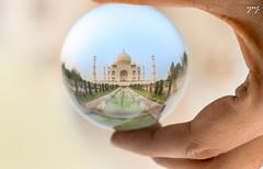 Taj Mahal through Looking Glass